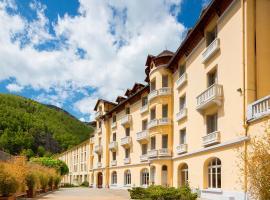 Le Grand Hôtel Thermal, Prats-de-Mollo-la-Preste (рядом с городом Les Bains de la Preste)