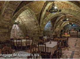 La sinagoga de Amusco