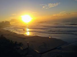 Quarto beira mar com linda vista