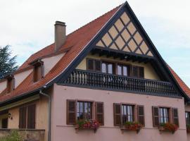 Gite Chez Jean, Сент-Ипполит (рядом с городом Rodern)