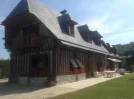 Chambres d'Hôtes Le Pressoir, Saint-Martin-de-Boscherville (рядом с городом Монтиньи)