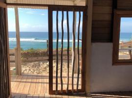 Ocean front beach shack