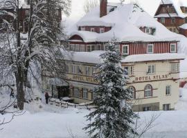 Hotel Atlas, Pec pod Sněžkou (Velká Úpa yakınında)