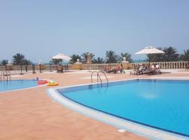 Beautiful Sea View Apartment in Ras Al Khaimah Al Hamra Village