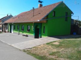 Penzion ve Vinařství Maláník-Osička, Mikulčice (Lužice yakınında)