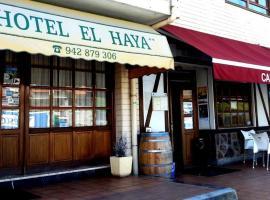 Hotel El Haya, Онтон (рядом с городом Мусkис)