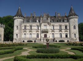 Relais du Silence Château de Nieuil, Nieuil (рядом с городом Suaux)