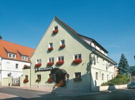 Hotel-Restaurant Waldhorn, Вайнгартен