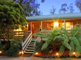 Glenview Retreat Luxury Accommodation, Emerald (Gembrook yakınında)