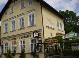 Pension a Restaurant Vesna, Srbská Kamenice (Stará Oleška yakınında)