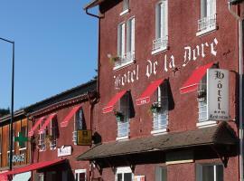 Hôtel Restaurant de la Dore, Vertolaye (рядом с городом Grandval)