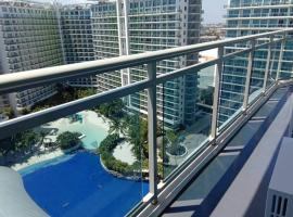 2 Bedroom Corner Beach View with WiFi at Azure Urban Resort Residences