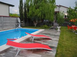 Amazing villa with pool near Mtskheta