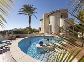 Bernia Villa Sleeps 6 Pool WiFi