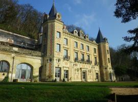 Relais du Silence Château de Perreux, Амбуаз (рядом с городом Сент-Уан-ле-Винь)