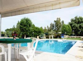 Large villa with private garden and pool near Pula