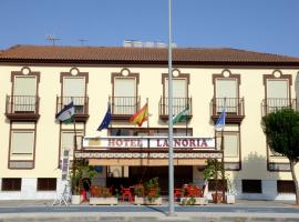 Hotel La Noria, Lepe (La Barca yakınında)
