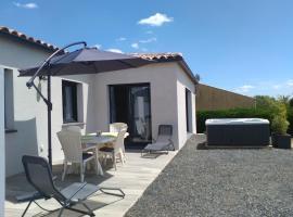 Villa Climatisée au milieu des vignes avec son spa