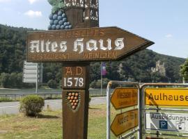Altes Haus, Rüdesheim am Rhein (Trechtingshausen yakınında)