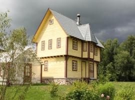 Дом-баня в поместье Старый замок