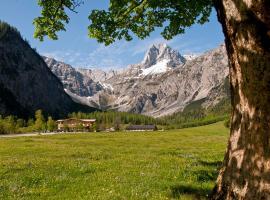 Gramai Alm alpengenuss & natur spa, Pertisau (Hinterriss yakınında)