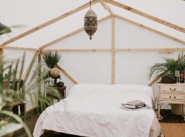 Booking.com : 西班牙的豪華帳篷。西班牙有49個露營地。