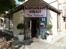 Restaurant fonda giralt, Amer (рядом с городом San Esteban de Llémana)