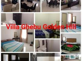 Villa Ghebu Golden Hill no 13, Jalan Golden Hills 7 Apartment