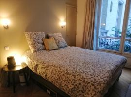 Champs Elysees 18th Parisian style apartment with 5 bedrooms