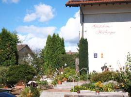 Gästehaus Hirlinger, Burladingen (Sonnenbühl yakınında)
