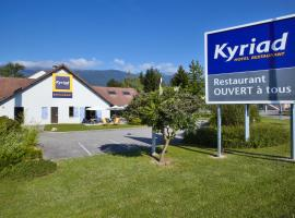 Kyriad Genève St-Genis-Pouilly, Сен-Жени-Пуйи (рядом с городом Крозе)
