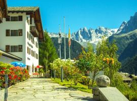 Hotel La Soglina, Soglio (Promontogno yakınında)