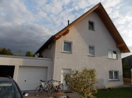 Ferienwohnung Welz, Schönburg (Wethau yakınında)