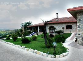 Villa Merici - Borgo Verde, Benevento (San Leucio del Sannio yakınında)