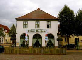 """Altes Rathaus"" Grevesmühlen, Grevesmühlen (Pieverstorf yakınında)"
