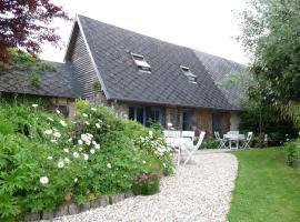 Chambres d'Hôtes L'Ecole Buissonnière, Trouville-la-Haule (рядом с городом Fourmetot)