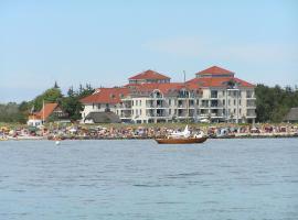 Strandburg, Burgtiefe auf Fehmarn