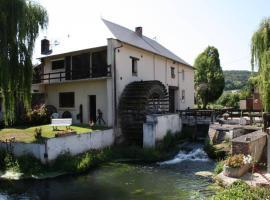 Chambres d'hôtes du Vieux Moulin, Oust-Marais (рядом с городом Eu)