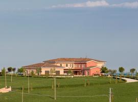 Casale Santa Maria Country House, Mosciano Sant'Angelo (Montone yakınında)