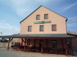 Penzion s Restaurací Zlata Hvězda, Vikýřovice (Šumperk yakınında)