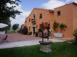 Hotel Mas El Cuquello, Els Ibarsos (Adzaneta yakınında)