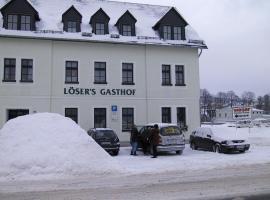 Löser's Gasthof Hotel, Olbernhau (Brandov yakınında)