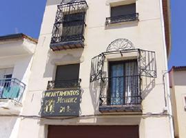 Apartamentos Herranz, Alcoroches (El Pobo de Dueñas yakınında)
