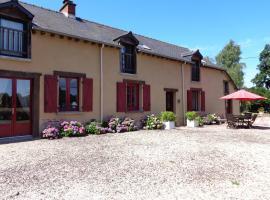Chambres d'Hôtes Domaine du Bois-Basset, Сент-Онан-ла-Шапель (рядом с городом Saint-Méen-le-Grand)