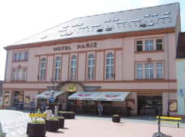 Hotel Paříž, Jičín (Nemyčeves yakınında)