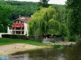 Hotel de La Plage, Saint-Martin-la-Rivière (рядом с городом Терсе)