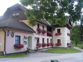 Landhotel Lacknerhof, Mariapfarr (Vordergöriach yakınında)