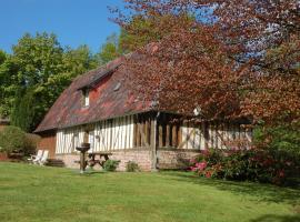 Cottage La Baronniére, Cordebugle (рядом с городом Saint-Julien-de-Mailloc)