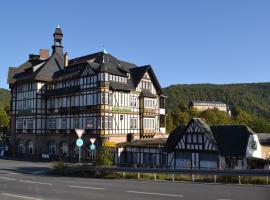 Hotel Weißer Hirsch, Schwarzburg (Unterweißbach yakınında)