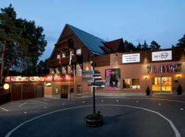 Hotel Berg, Старе-Сплавы
